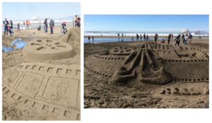 Sand, Shovel, Action 2015 Leap Sandcastle